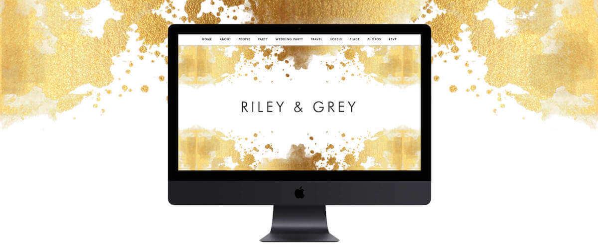 Liquid Gold Design Template